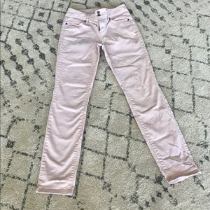 Perfectly pink skinny jeans